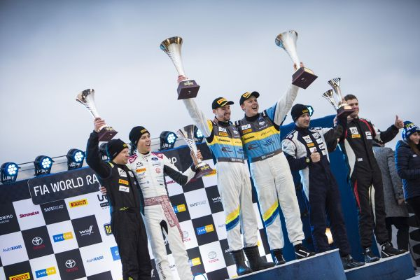 FIA Junior WRC Championship - Kristensson does the double
