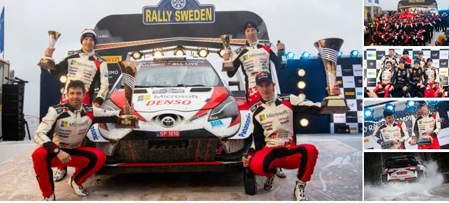 Briton Evans seals Rally Sweden victory to secure 2020 title lead