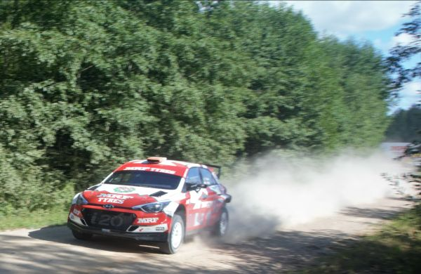 Team MRF Tyres looking forward to Rally Liepaja