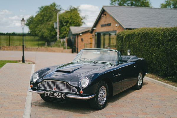 Exceptional Aston Martin DB6 Volante available at Bell Sport and Classic