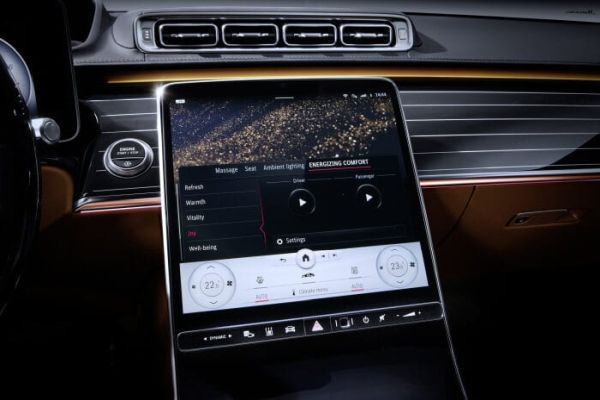 "Meet the S-Class DIGITAL: ""Luxury & Well-Being"": Personal wellness oasis"