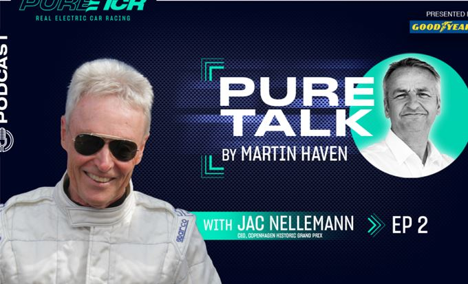 """It's going to be electric!""  Jac Nellemann guests on PURE Talk presented by Goodyear"