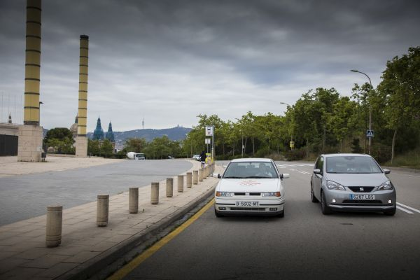 SEAT: Electric cars on the Barcelona Olympic mountain