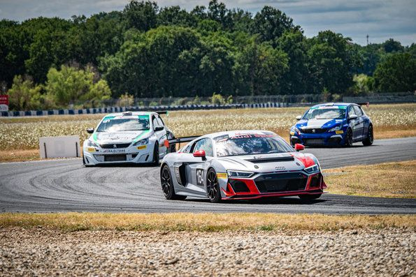 Audi R8 LMS GT4 Class victory in France