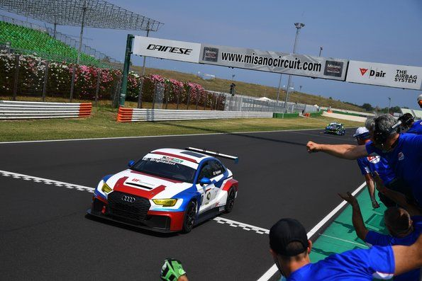 Two TCR victories for BF Motorsport in Italy
