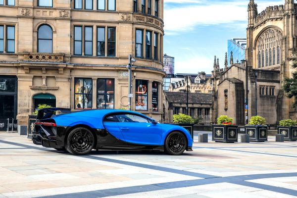 European Roadshow: Manchester welcomes the Chiron Pur Sport