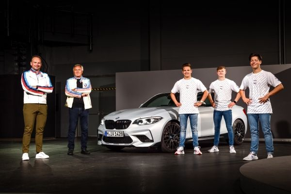 Triple M Power for the BMW Junior Team: BMW Motorsport youngsters receive BMW M cars