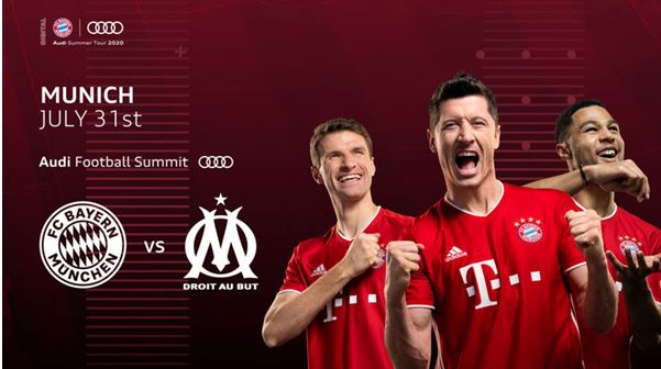 Audi Football Summit: FC Bayern welcomes Olympique Marseille