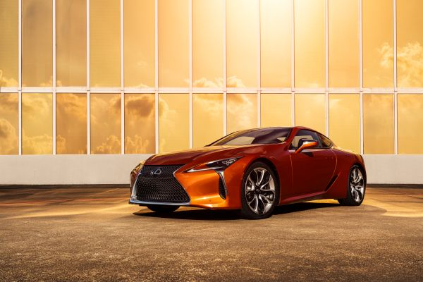 A new colour debut for the 2021 Lexus LC Coupe - Blazing Carnelian