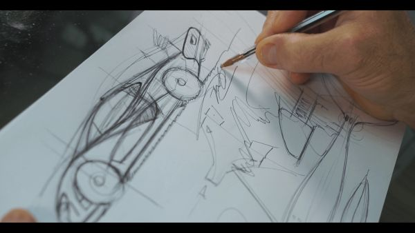 "Frank Stephenson to auction original design sketches from the Youtube ""How I designed..? series for charity"