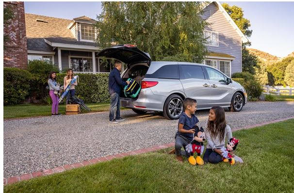 "Refreshed 2021 Honda Odyssey Takes Families on an ""Enchanted"" Ride"