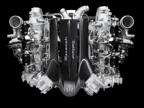 Maserati presents Nettuno -The new 100% Maserati engine that adopts F1 technology for a road car