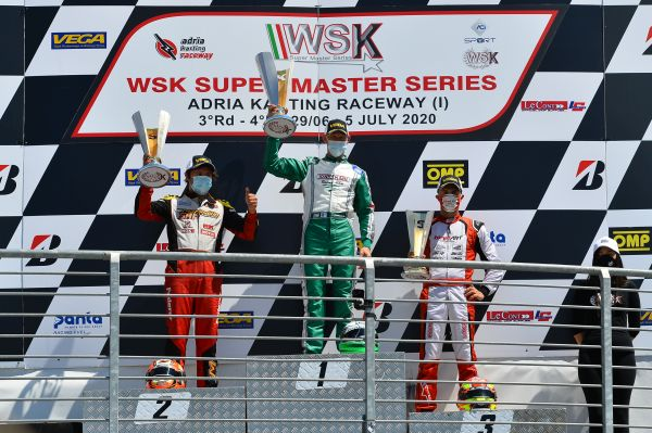 Tony Kart starts again with 2 titles and 4 victories at Adria