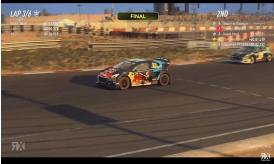 Timmy Hansen is World RX Esport Champion - Shane van Gisbergen wins Cape Town showdown