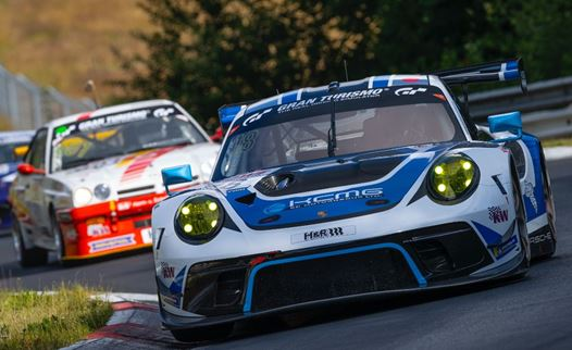 KCMG finish as highest-placed Porsche on maiden NLS weekend together