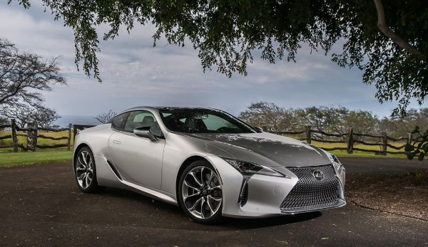 Updated Lexus LC Coupe - 10 amazing facts