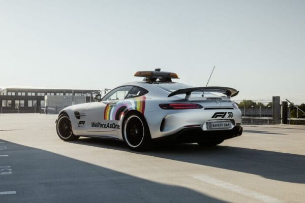 Mercedes-AMG GT R Official FIA F1 Safety Car with a new look