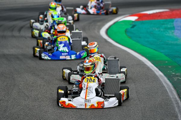 Lindlad strenghtened his lead at Adria in OKJ