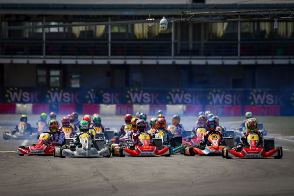 Great finals in Sarno at the opener of WSK Euro Series