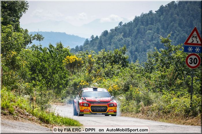 Efren Llarena / Sara Fernandez, Team Spain Rally di Roma Capitale notes,quotes and results - great 6th