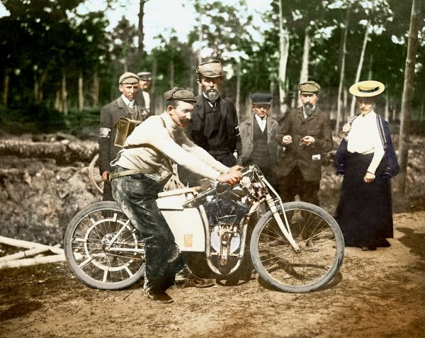 The triumph at Dourdan: Laurin & Klement won the motorcycle world championship 115 years ago