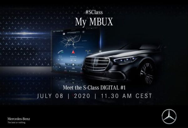 Meet the Mercedes-Benz S-Class DIGITAL – first insights into the new luxury saloon