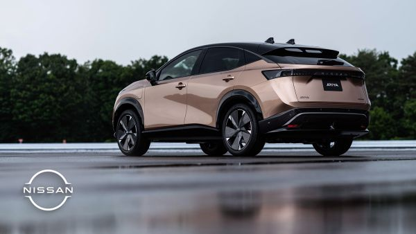 Nissan Ariya - An all-electric Coupé Crossover for a new era