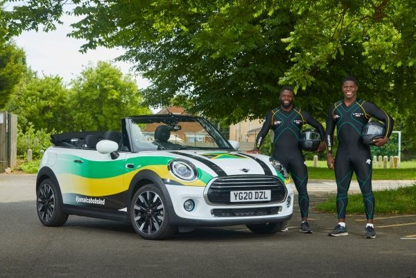 New Mini Convertible training wheels for the Jamaican Bobsleigh team - interview