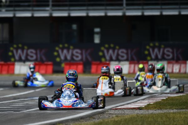 Sarno's track serves up a great event on long-awaited return to action with the WSK Euro Series Karting