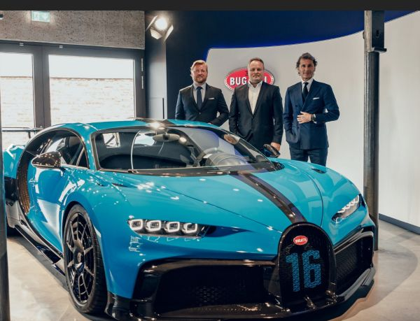 Exclusive European Road Show: The Chiron Pur Sport in Frankfurt and Munich