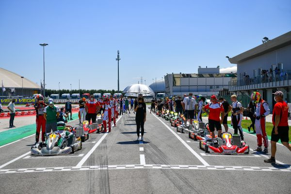 The WSK Super Master Series 2020 ends and WSK Euro Series starts in Sarno