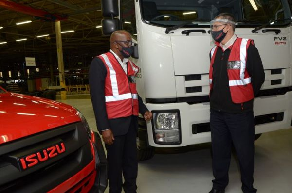 Isuzu Hosts Provincial Government Delegation