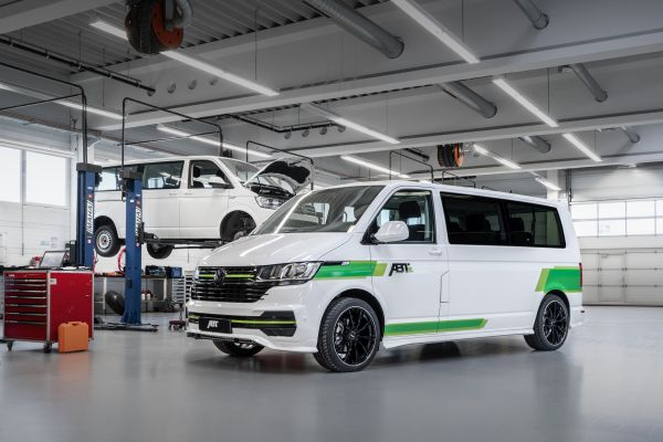 ABT e-Transporter 6.1 with optional aero package ready to go