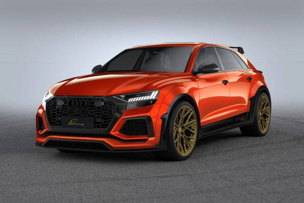 LUMMA CLR 8 RS – striking body and wheel programme personalises the Audi RS Q8.