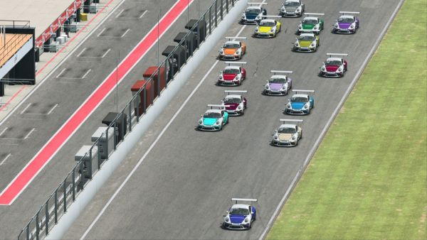 Laurin Heinrich achieves double victory at the virtual Autodrom Most