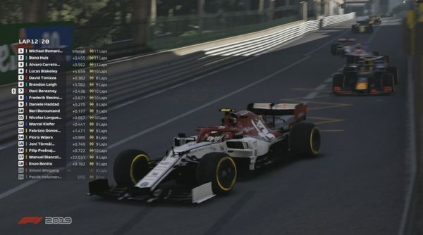 Strong showing for Alfa Romeo Racing ORLEN in Virtual Monaco races