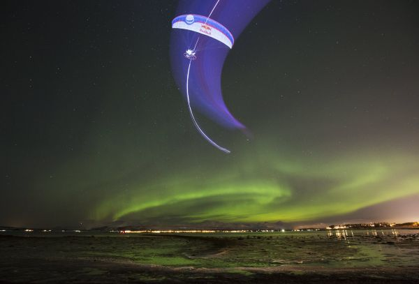 Acro-paraglider Horacio Llorens reflects on his latest project under the Northern Lights