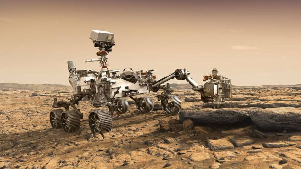 NASA's Mars 2020 Perseverance rover, designed to better understand the geology of Mars
