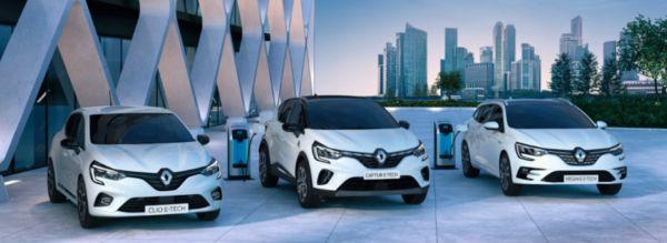 Renault unique E-Tech hybrid range to drive - automobilsport.com
