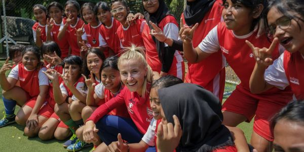 UEFA Foundation and The Arsenal Foundation helping children in Indonesia