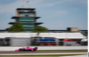 First INDYCAR Front Row Start for Jack Harvey at Indianapolis