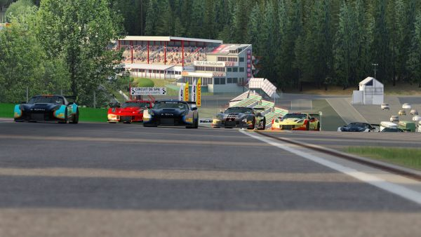 Kicera and Archer Claim Trans Am by Pirelli Esports Wins at Spa - also video replay