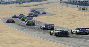 Driver standings in Trans Am Esports Championship after Riverside