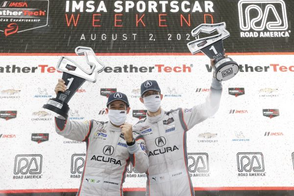 Acura Wins Wet and Wild Road America
