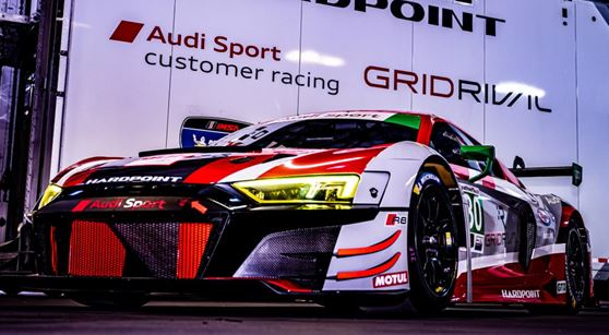 Team Hardpoint Audi Ready For IMSA WeatherTech Debut at Daytona