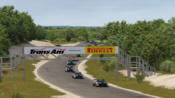 Hurley and Kicera Conquer Bridgehampton with a Pair of Trans Am by Pirelli Esports Wins -  replay