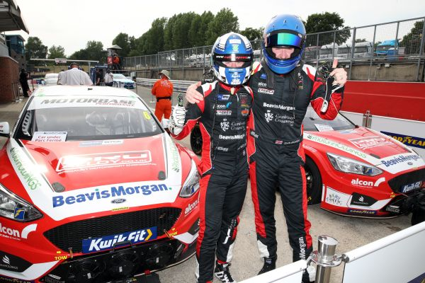 Rory Butcher bags BTCC pole at Brands Hatch