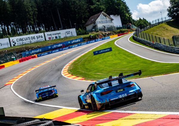 DTM with a new record: 302km/h at the Spa Grand Prix circuit