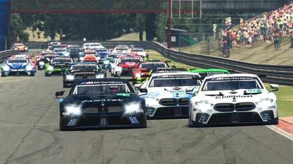 BMW SIM 120 Cup: Williams triumphs in Spa-Francorchamps