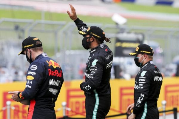 Merceders AMG Petronas F1 1-2 in Styrian Grand-Prix race